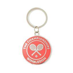 Championships Logo Keyring - Pink