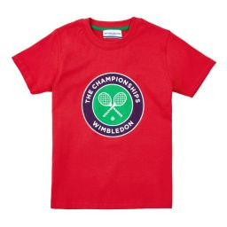 Kids Championships Logo T-Shirt - Red