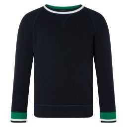Kid's Crew-Neck Sweater - Midnight