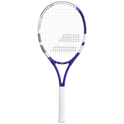 Babolat Wimbledon 27 Racket - White & Purple