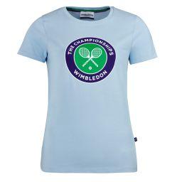 Women's Championships Logo T-Shirt - Blue