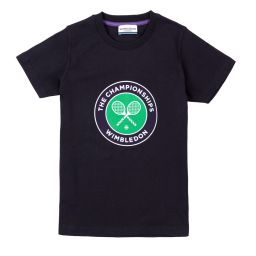 Kids Championships Logo T-Shirt - Midnight