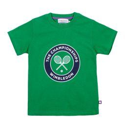 Kids Championships Logo T-Shirt - Green