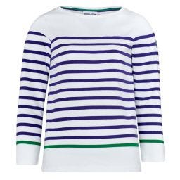 Women's Breton - White & Purple