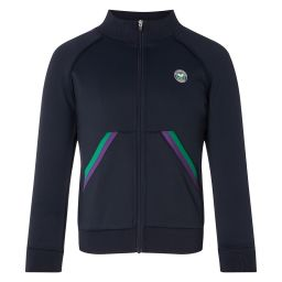 Kids Performance Full Zip Jacket - Midnight