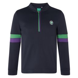 Kids Sports Track Top - Midnight
