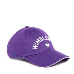 Wimbledon Word Cap - Purple