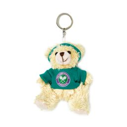 Teddy Bear Keyring - Green