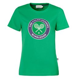 Women's Championships Logo T-Shirt - Vibrant Green
