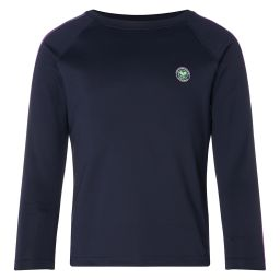 Kids Sports Tee - Long Sleeve - Midnight