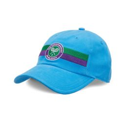 Kids Logo Stripe Cap - Sky Blue
