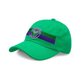 Kids Logo Stripe Cap - Vibrant Green