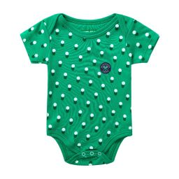 Ball Shadow Babygrow - Green