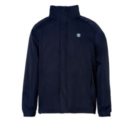 Men's Water Resistant Concealed Zip Storm Jacket - Midnight