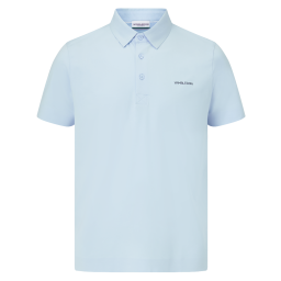 Men's Mercerised Polo - Blue