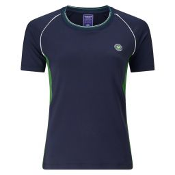 Women's Contrast Panels Performance Top - Midnight