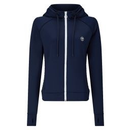 Ladies' Hooded Training Jacket - Midnight