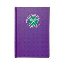 Wimbledon A5 Hardback Notebook - Purple