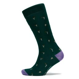 Men's Organic Cotton Socks Tennis Player - Green