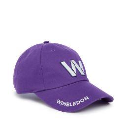 Wimbledon W Baseball Cap - Pansy