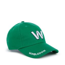 Wimbledon W Baseball Cap - Green
