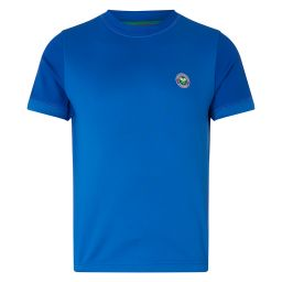 Kid's Performance Crew Neck T-Shirt - Blue