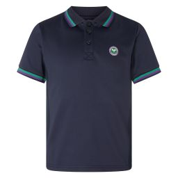Kids Classic Tournament Polo Shirt - Midnight