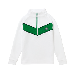 Kids Competition Training Top - White