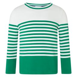 Kid's Bold Block Colour Breton - Green