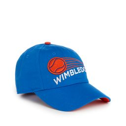 Kids Wimbledon Ball Motion Baseball Cap - Blue