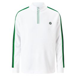 Men's 1/4 Zip Championships Training Top - White