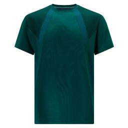 Men's Performance Panelled T-Shirt - Green