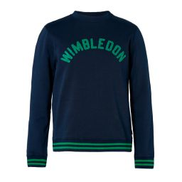 Men's High Stitch Wimbledon Sweatshirt - Midnight