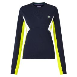Women's Tournament Training Long Sleeve T-Shirt - Midnight and Yellow Panels