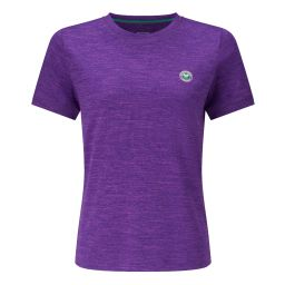 Women's Performance Marl Crew Neck T-Shirt - Purple