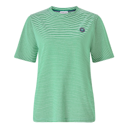 Women's Championships Yarn Dyed Stripe T-Shirt - Green