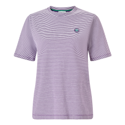 Women's Championships Yarn Dyed Stripe T-Shirt - Pansy