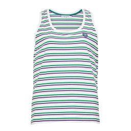 Women's Relaxed Fit Jersey Singlet - Stripe
