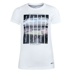 Women's 2021 Photo Printed Tee - White