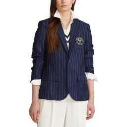 Polo Ralph Lauren Wool Umpire Blazer - Navy