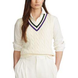 Polo Ralph Lauren Ladies' Tennis Vest - Cream
