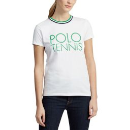 Polo Ralph Lauren Polo Tennis T-Shirt - Ladies - White