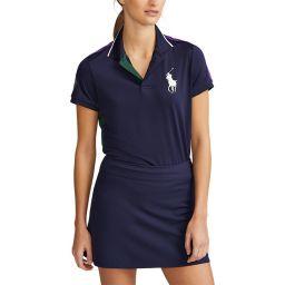 Polo Ralph Lauren Ball Girl Polo Shirt - Navy