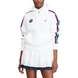 Polo Ralph Lauren Ladies' Fleece Zip Hoodie - White