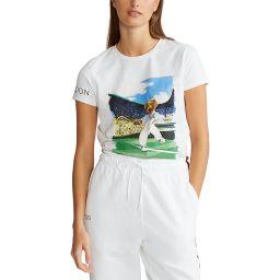 Polo Ralph Lauren Women's Polo Bear Tee - White
