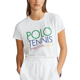 Polo Ralph Lauren Women's Polo Tennis Crewneck T-Shirt - White