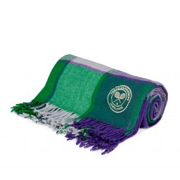 Supersoft Throw - Purple & Green