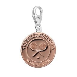 Championships Logo Charm - Rose Gold Plated