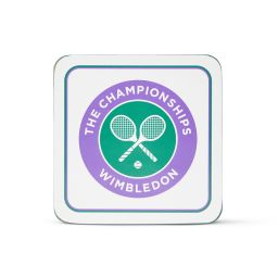 Wimbledon Logo Coasters - Set of 4