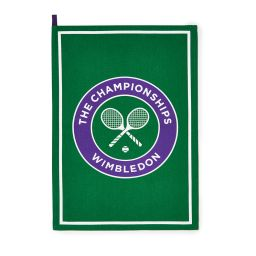 Wimbledon Logo Tea Towel - Green